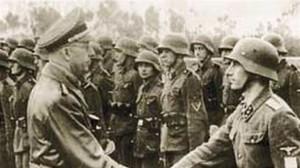 V divizi SS Galizien byly velitelé Němci a mužstvo Ukrajinci. Autor: archiv