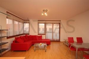 Pronájem částečně zařízeného bytu 3+kk, 95m2, Praha 5 - Jinonice