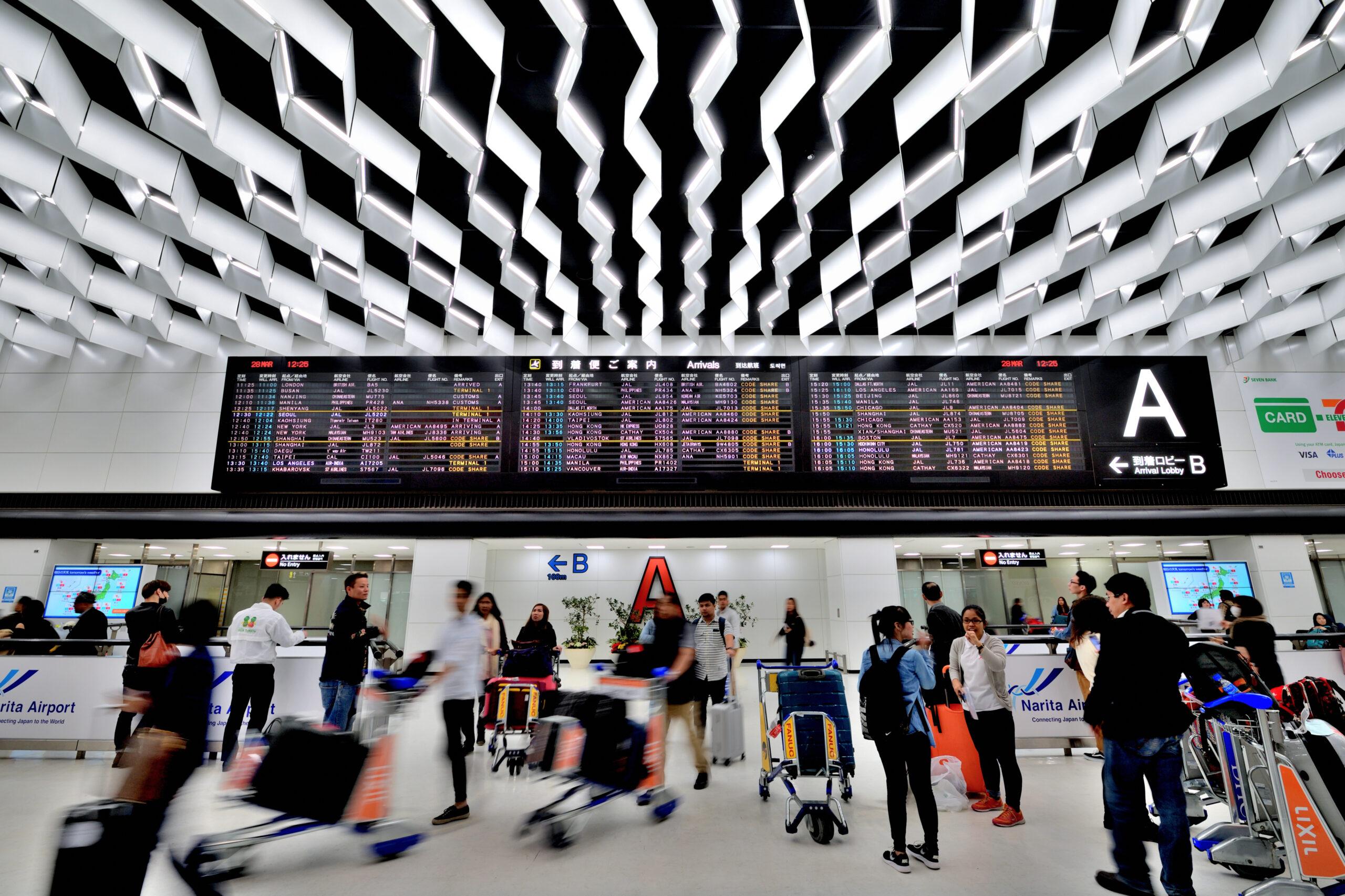 letiště Tokyo Narita zavádí novou technologii získávání zpětné vazby od cestujících