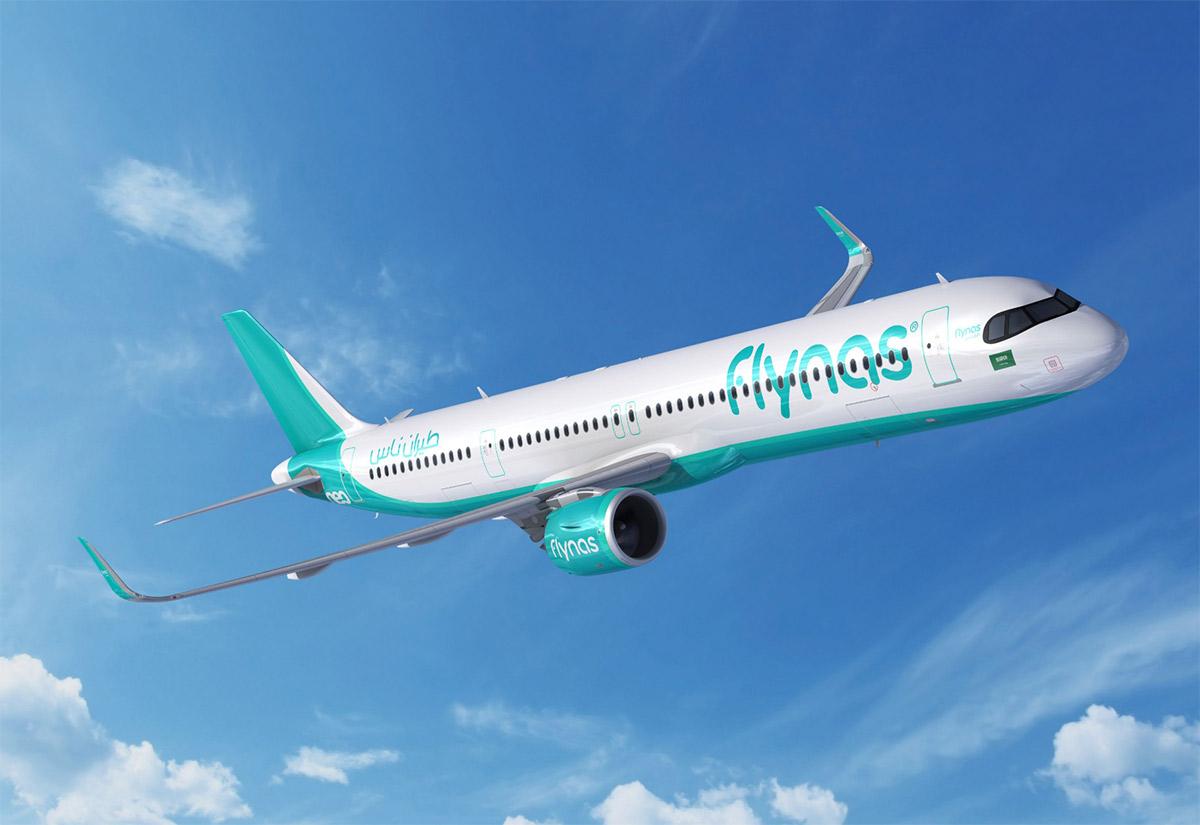 Flynas koupil 10 letadel typu A321XLR od výrobce letadel Airbus