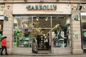 Řetězec irských prodejen se suvenýry Carrolls