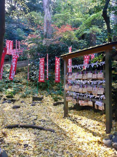 Část svatyně Sasuke Inari