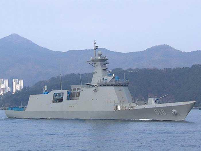 fregaty třídy Korejské republiky Navy
